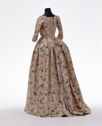 Damenkleid (Robe à l'anglaise)