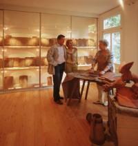 museum bad herrenalb feierabendziegel sammlung bernt museum digital baden w rttemberg. Black Bedroom Furniture Sets. Home Design Ideas