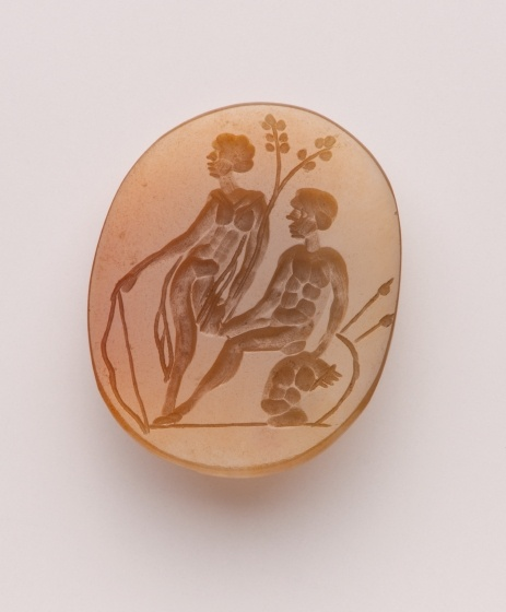 Intaglio mit Diana und Mars, Anfang 17. Jh. (Landesmuseum Württemberg, Stuttgart CC BY-SA)