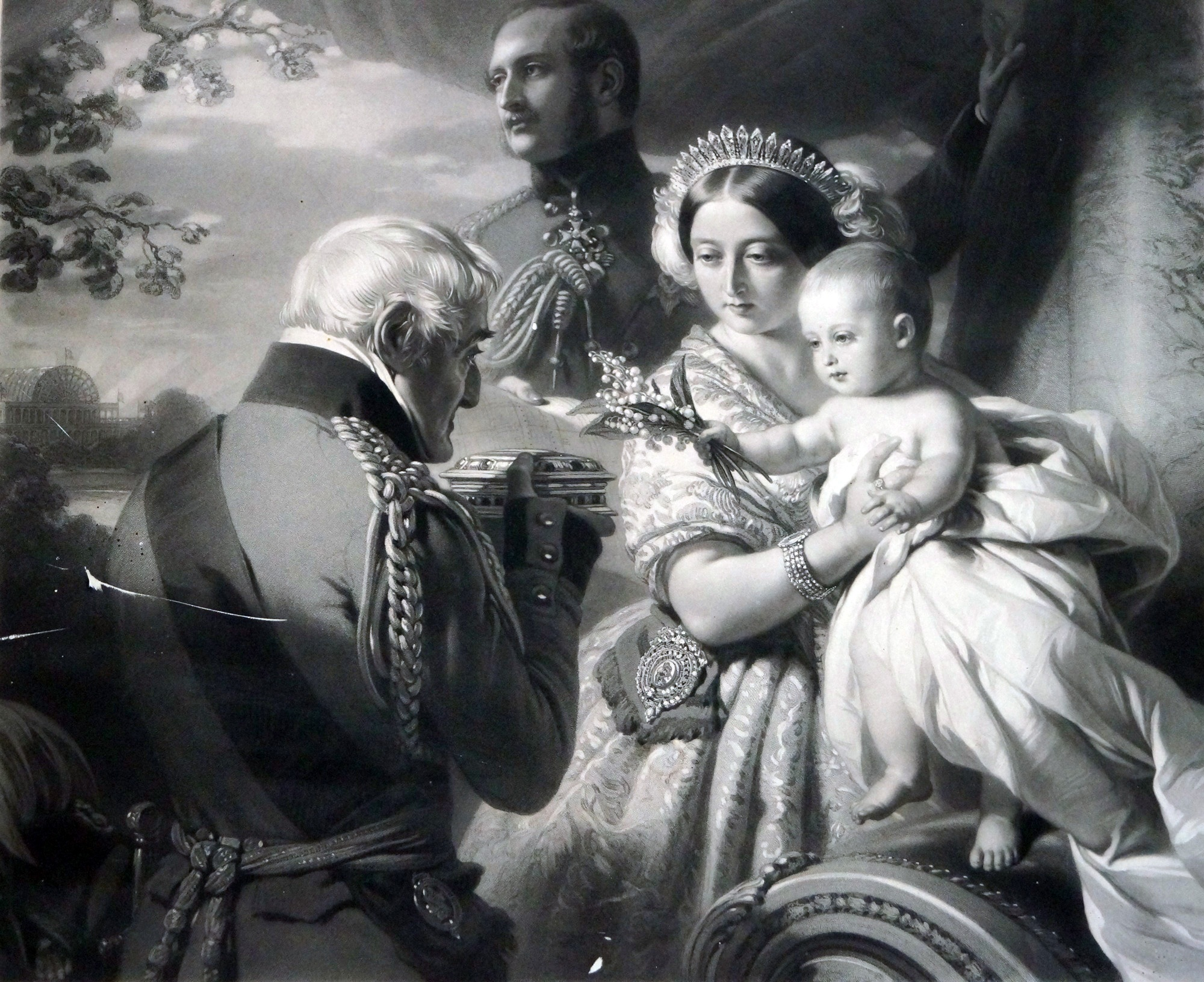 The First of May 1851 (Le Petit Salon - Winterhalter in Menzenschwand CC BY-NC-SA)