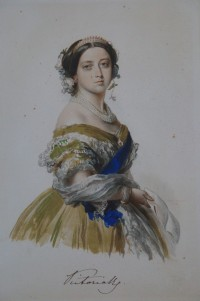 Richard James Lane: Queen Victoria nach Winterhalter