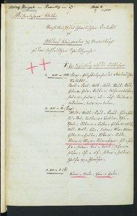 Sprachaufsatz aus Altdorf-Weingarten OA Ravensburg [Quelle: Landesmuseum Württemberg]