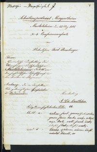 Sprachaufsatz aus Markelsheim OA Mergentheim [Quelle: Landesmuseum Württemberg]