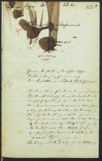 Sprachaufsatz aus Salach OA Göppingen [Quelle: Landesmuseum Württemberg]