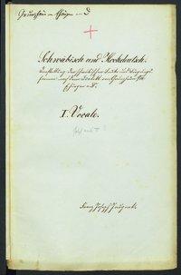 Sprachaufsatz aus Grunzheim OA Ehingen [Quelle: Landesmuseum Württemberg]