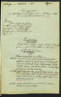 Sprachaufsatz aus Bollingen OA Blaubeuren [Quelle: Landesmuseum Württemberg]