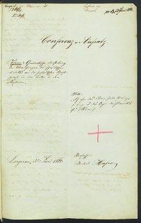 Sprachaufsatz aus Langenau OA Ulm [Quelle: Landesmuseum Württemberg]