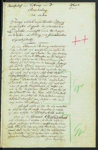 Sprachaufsatz aus Obereisenbach OA Tettnang [Quelle: Landesmuseum Württemberg]